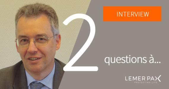 Richard Zimmermann, membre du comité scientifique de Lemer Pax, consultant industriel dans le domaine de la médecine nucléaire