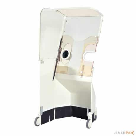 Cathpax® AF Chair : Cabine de radioprotection sans contrainte de poids