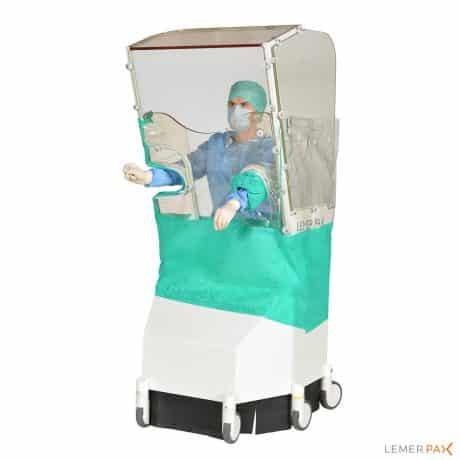 Cathpax AF Chair® : Revêtement radiologique aisément décontaminable