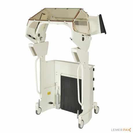 Cathpax® CRM Double : cabine de radioprotection pour deux personnes
