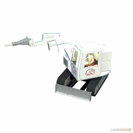 Scorpio MSV® : véhicule unique pour intervention en milieu irradiant