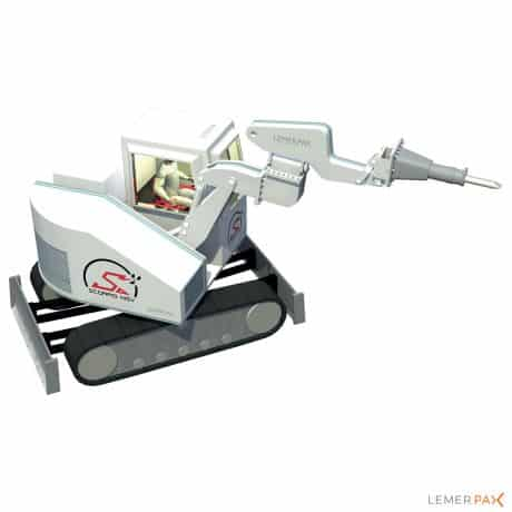 Scorpio MSV® : véhicule blindé pour intervention en milieu irradiant