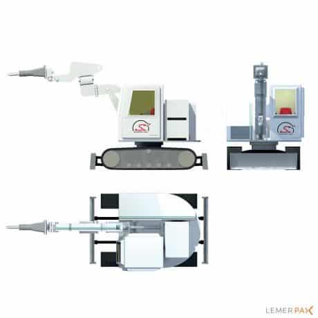 Scorpio MSV® : véhicule blindé multifonctions pour intervention sur sites irradiants