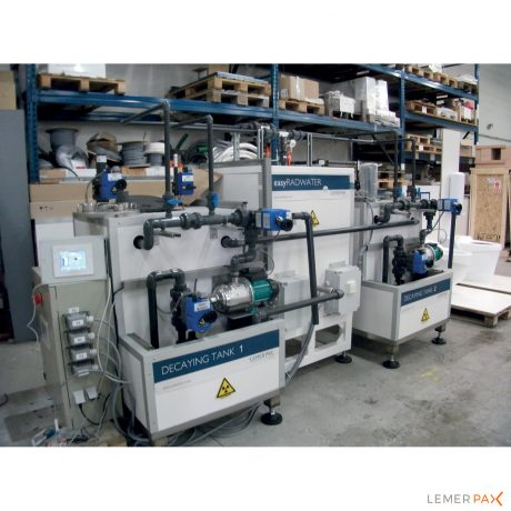 easyRADWATER® : système de monitoring d'activité volumique d'effluents radioactifs