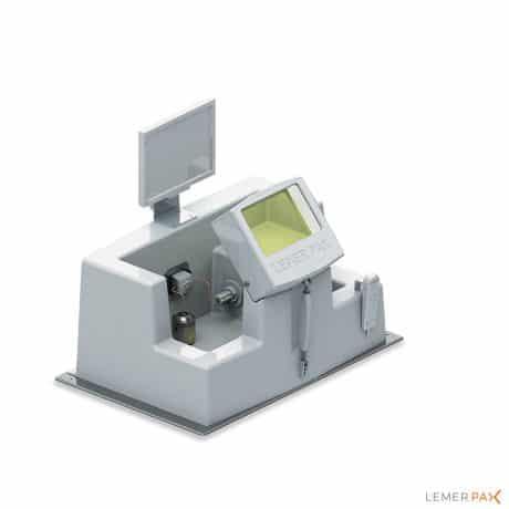 L-Block® : écran blindé de radioprotection qui assure la sécurité biologique de l'opérateur