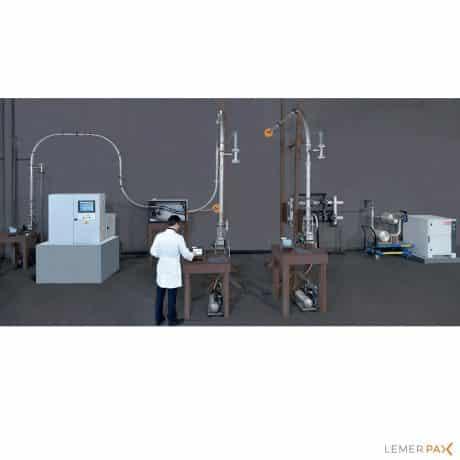 Système de transfert pneumatique pour échantillons radioactifs
