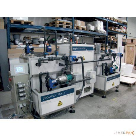 Système d'épuration easyRADWATER® Cleaner pour effluents radioactifs