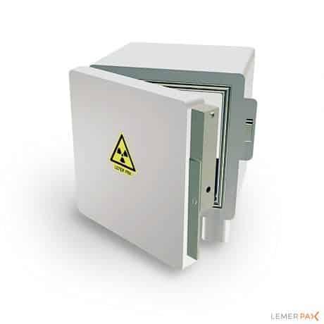 Coffre de stockage blindé pour sources radioactives et radiopharmaceutiques