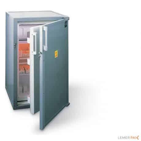 Stockeur blindé réfrigéré pour sources radioactives