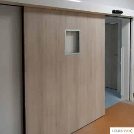 Blocs-portes plombés Securix - Porte plombée coulissante ouverte