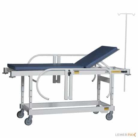 Brancard amagnétique à hauteur fixe pour la radiologie IRM