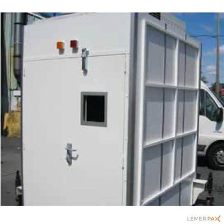 Cabines monobloc pour contrôle non destructif (CND)