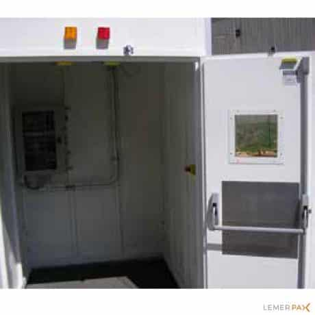 Cabines monobloc pour examens non destructif (END)