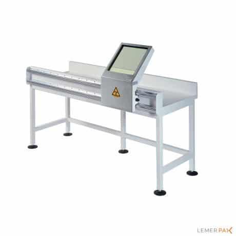 Paillasse blindée avec meuble de laboratoire avec écran mobile blindé