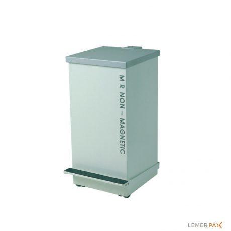 Poubelle mobile à pédale 50 L amagnétique dédiée aux salles de radiologie IRM