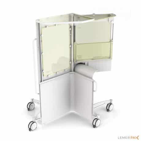 Cathpax® AIR : cabine de radioprotection destinée aux procédures de radiologie, cardiologie et neurologie interventionnelles