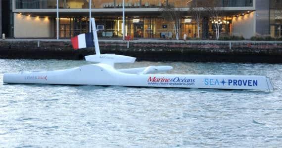 Drône marin mission scientifique