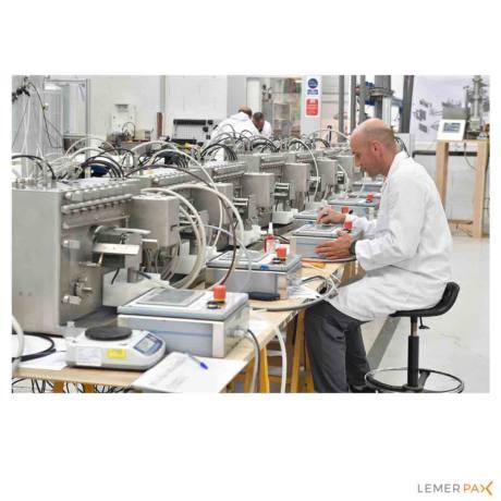Radioprotection : station d'échantillonnage Lemer Pax