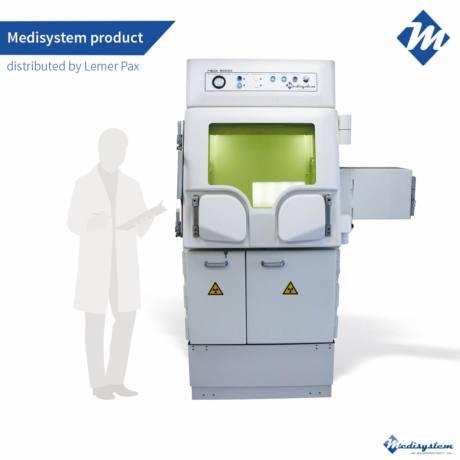 Shielded hot cell Medi 9000 2R LME