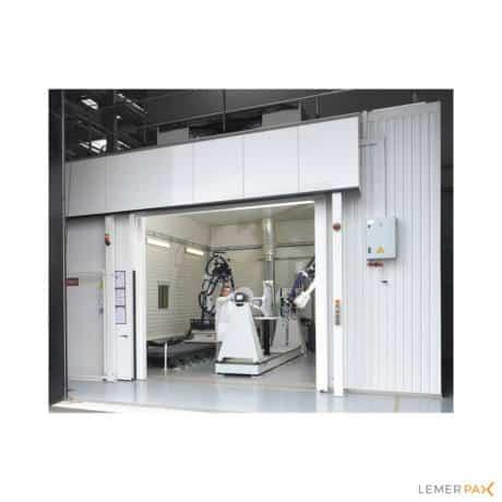 Non-destructive testing cabinets_NDT_cabine de controle non-destructif_Lemer Pax