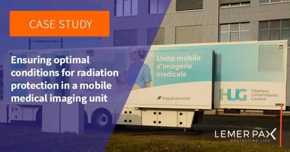Mobile medical imaging unit - HUG - Lemer Pax