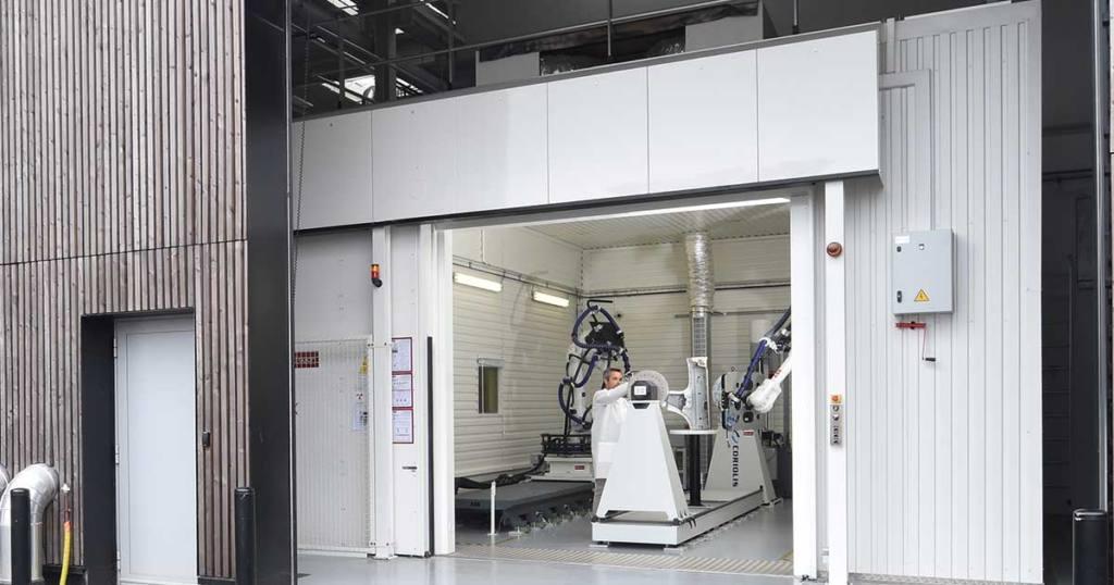 Plataforma de control no destructivo robotizado por tomografía de rayos X, CEA Tech, Pays de la Loire, Francia